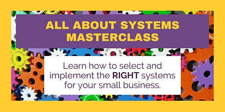 All About Systems Masterclass tickets