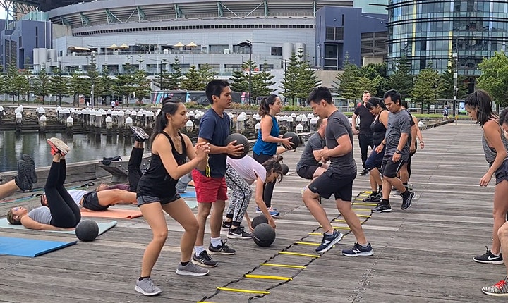 Social Fitness Bootcamp & Coffee image