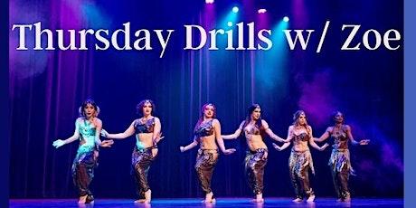 Thursday Drills class! tickets