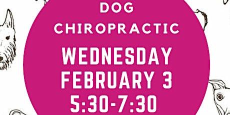 Dog Chiropractic Pop-Up Event tickets