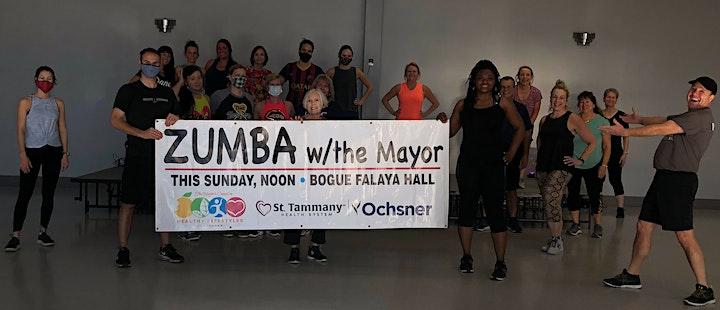 Zumba with the Mayor : ) image