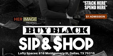 Buy Black Sip & Shop DFW tickets