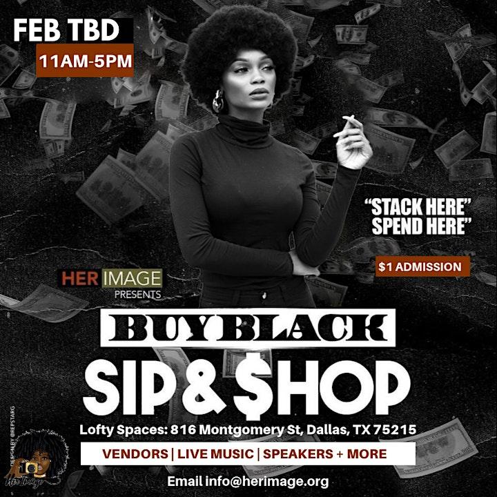 Buy Black Sip & Shop DFW image