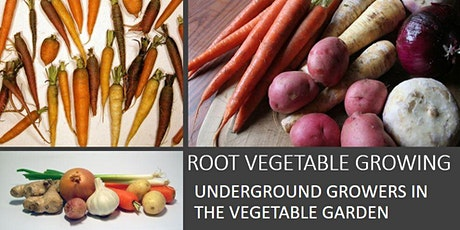 ROOT VEGETABLE GROWING- UNDERGROUND GROWERS IN THE VEGETABLE GARDEN tickets