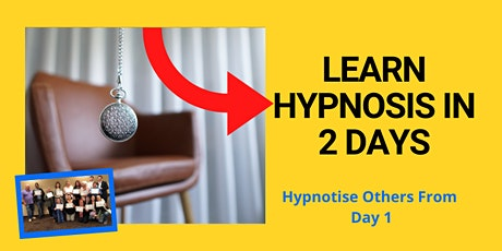Learn Hypnosis, 2 Day Course! tickets