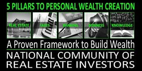 LEARN THE 5 PILLARS TO PERSONAL WEALTH CREATION tickets