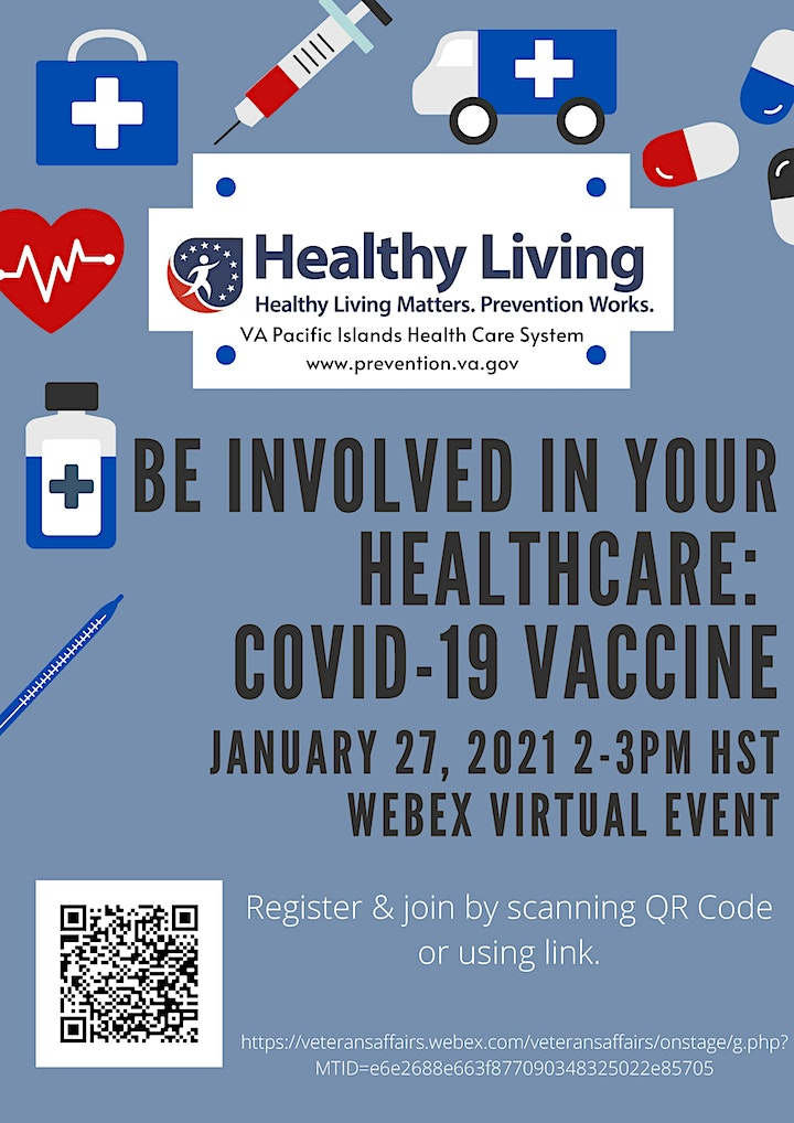 Be Involved in Your Healthcare: COVID-19 Vaccine image