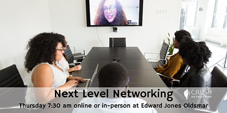 Next Level Networking 7:30 am Thursday Weekly Meeting tickets