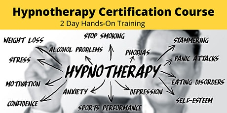 2 Day Hypnotherapy Certification Course tickets