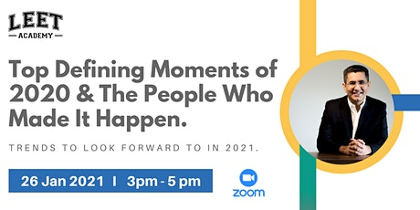 Top Defining Moments of 2020 & The People That Made It Happen tickets