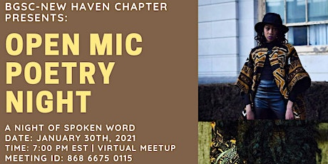 BGSC New Haven Open Mic Poetry Night tickets