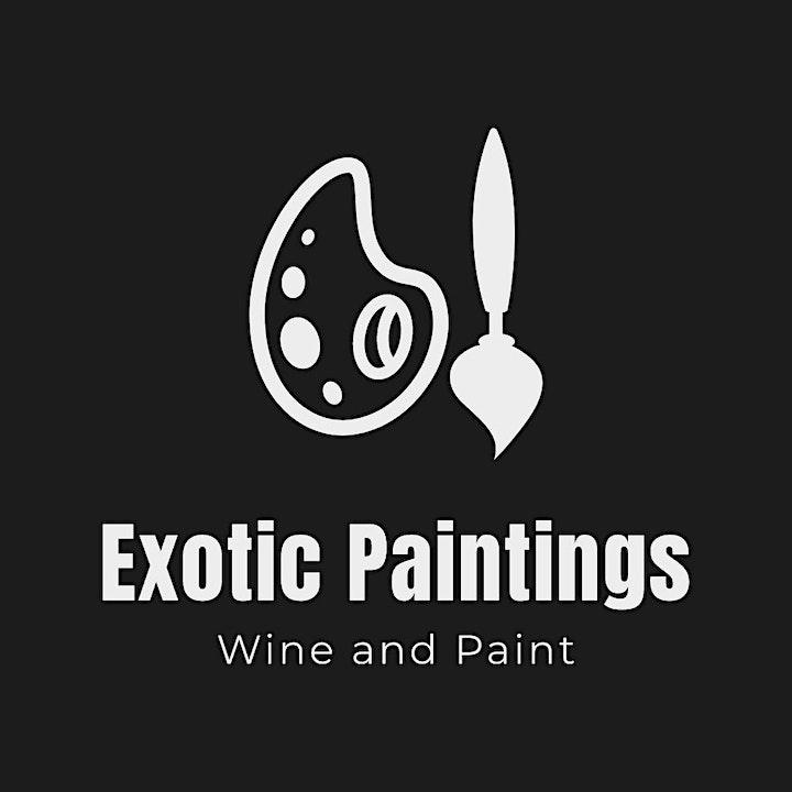 Houston Exotic Paintings:Male Models Saturday Sip & Paint BYOB image