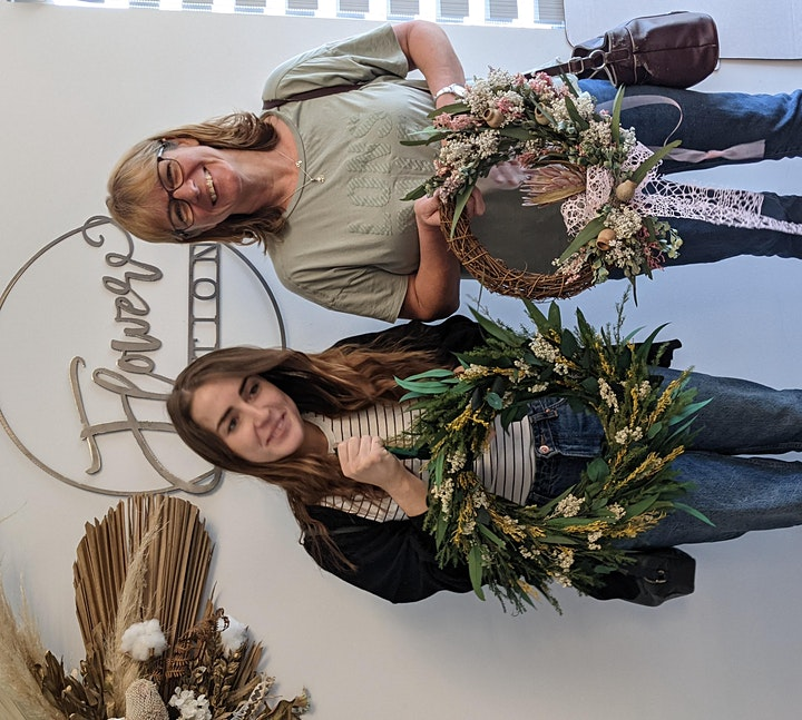 Wreath Workshop (Dried & preserved Everlasting) image