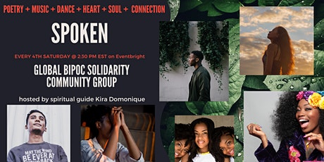 Spoken: A Cultural Solidarity BIPOC Support Group tickets