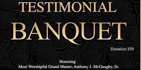 MWGM Anthony J. McGaughy Testimonial Banquet tickets