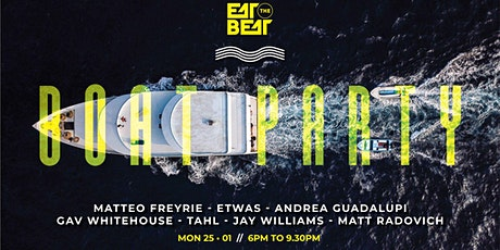 Eat The Beat : Australia Day's Boat Party tickets