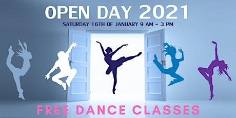 Free Kids Dance Classes - Maximo Dance Studio's Open Day 2021 tickets
