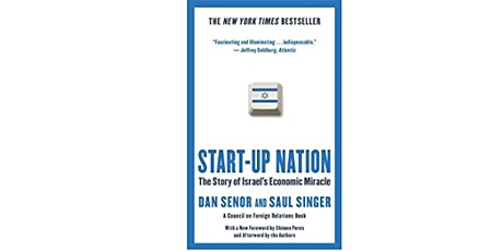 Book Review & Discussion : Start-up Nation tickets