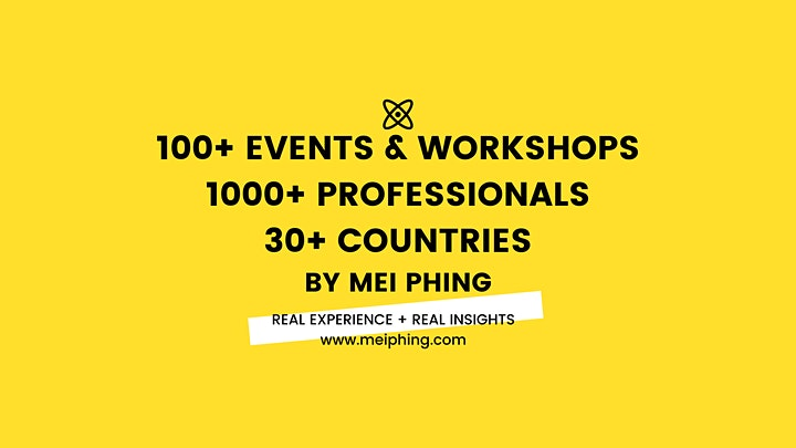 LinkedIn Profile Branding & Job Search Workshop⚡ #GotAPhing by Mei Phing image