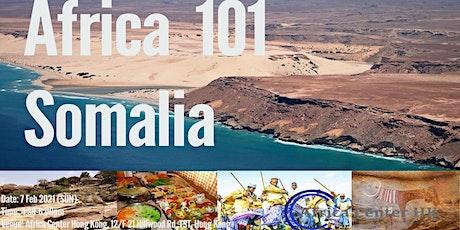 Africa 101 | Somalia tickets