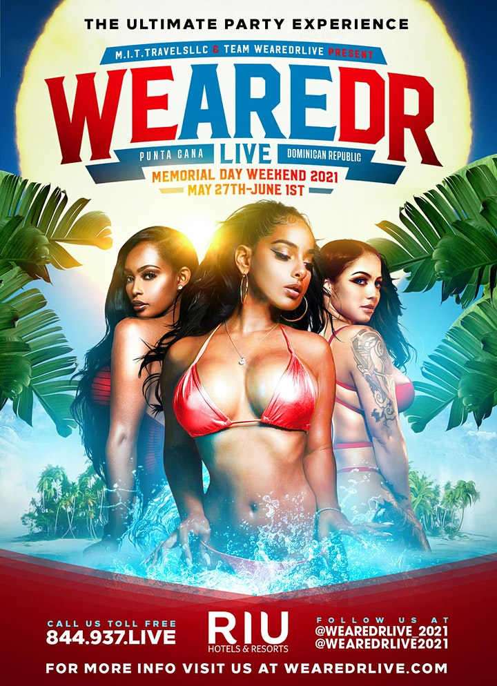 WeAreDRLive  Party Pass on increase May 14th- Memorial Day Weekend 2021 image