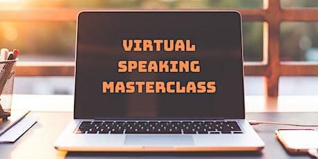 Virtual Speaking Masterclass Belfast tickets