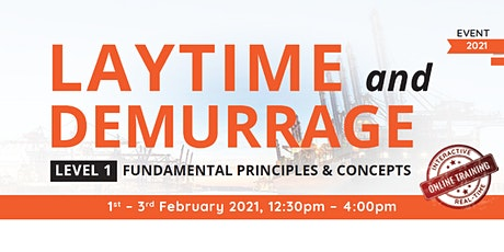 Laytime and Demurrage Fundamental Principles & Concepts (Level 1) tickets