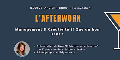 Afterwork : Management & Créativité ?! Que du bon sens ! billets