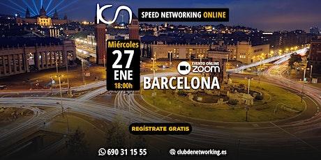 KCN Barcelona - Speed Networking Online  27-Ene entradas