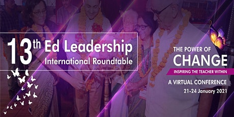 Ed Leadership - International Roundtable Conference - an initiative of GETI tickets