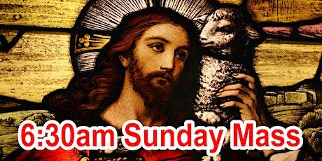 6:30am Sunday Mass (OUTDOOR SCHOOL PARKING AREA) tickets