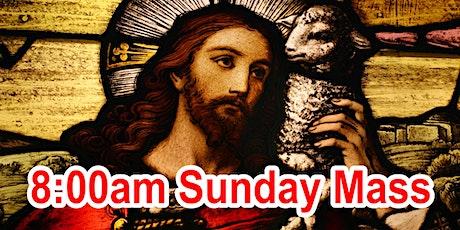 8:00am Sunday Mass (OUTDOOR SCHOOL PARKING AREA) tickets