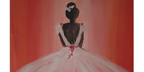 Fun Painting with Acrylics ONLINE, live and friendly - Ballerina tickets