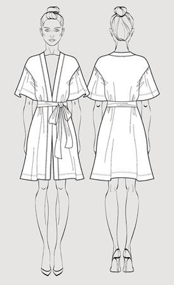 Beginners Sewing - Make Your Own Kimono Style Robe image