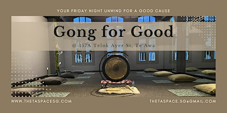 Gong for Good tickets