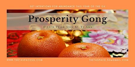 Lunar New Year Prosperity Gong tickets