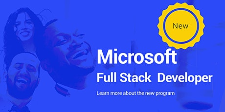 Microsoft Full Stack Developer tickets