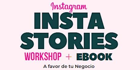 Instastories a Favor de tu Negocio E-book Estratégico tickets