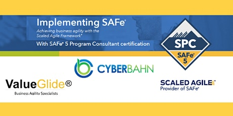 Implementing SAFe® 5.0 London Delivered by Cyber Bahn tickets