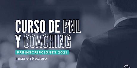 Curso de PNL & Coaching Online-Febrero 2021-Charla gratuita entradas