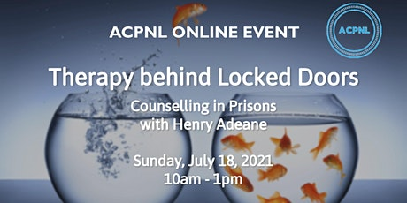 Therapy behind Locked Doors – Counselling in Prisons tickets