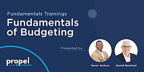 Fundamentals of Budgeting tickets