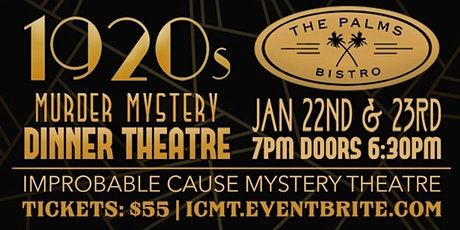 "1920s Mystery Dinner ""Murder at the Museum"" @ Palms of Destin tickets"