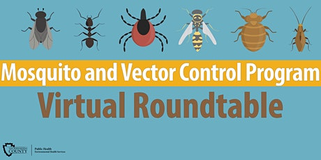 Virtual Mosquito and Vector Control Program (MVCP) Roundtable tickets