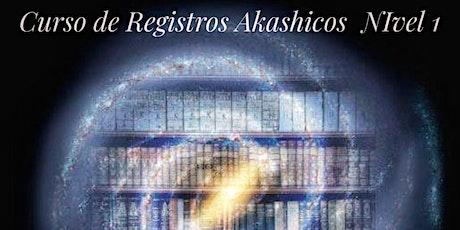 Curso Registros Akáshicos Nivel I Presencial tickets