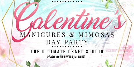 Galentine's Manicure & Mimosas Day Party tickets