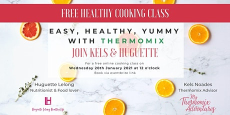 Healthy Cooking class with Thermomix tickets