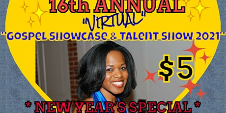"Words of Essence's  ""16th Annual Gospel Showcase  Event 2021"" (VIRTUAL) tickets"