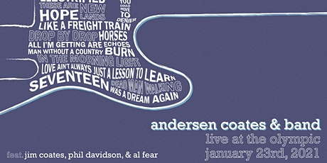 Andersen Coates & Band - Live at The Olympic tickets