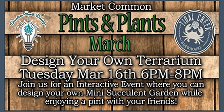 Pints & Plants March TCB tickets